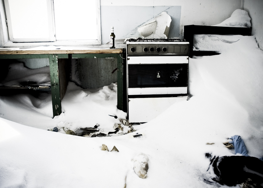 Quite cold kitchen (from series; Clearly Remote) 2007